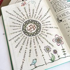 """#planwithmechallenge Day 15: Gratitude  I like to write down little tid-bits of what I'm grateful for in my dailies, but this is by far my favorite #gratitude page to date in my #BulletJournal  I just love looking back at it from time to time and smiling as I read all of the things that bring happiness and joy to my life ☺️"" Photo taken by @boho.berry on Instagram, pinned via the InstaPin iOS App! http://www.instapinapp.com (10/15/2015)"