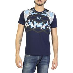 Versace Jeans navy,blue T-shirts S Versace Jeans Mens, Versace Jeans Couture, Polo T Shirts, Jean Shirts, Navy Blue T Shirt, White Cotton T Shirts, Color Negra, Mens Sweatshirts, Shirt Sleeves