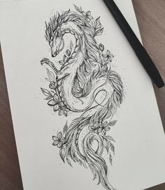 Hip Thigh Tattoos, Dope Tattoos, Dream Tattoos, Future Tattoos, Body Art Tattoos, Hand Tattoos, Small Tattoos, Tatoos, Asian Dragon Tattoo