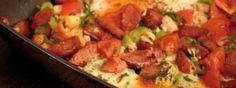 Rezept für Sucuk yumurta ~ Spiegelei mit Sucuk, Video & Recipe