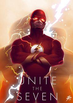 Justice League: Unite the Seven - Created by Simon Pape