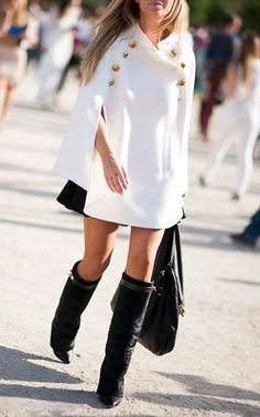Cape & boots