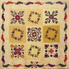 Barbara Brackman's MATERIAL CULTURE: Emporia Quilts: Charlotte Jane Whitehill's Tomato Flower