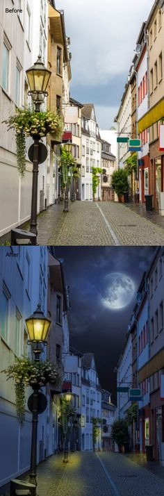 How to Turn Day into Night in this Photoshop Tutorial #besttutorials #freetutorials #photoediting #photomanipulation #photoshoptutorials #photoshoptips #photoshoptuts