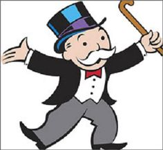 Board Game Night - Monopoly man pinata - Uncle Pennybags