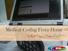 A lot of people want to get into medical coding because they've heard this is a job you can do from home. However, just like medical billing, this isn't something you can just dive right into and s. Medical Coder, Medical Transcription, Medical Billing And Coding, Medical Terminology, Medical Billing Certification, Health Information Management, New Career, Future Career, Career Change