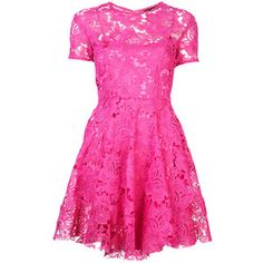 House of Holland Pink Lace Boater Dress
