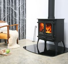 There is nothing quite like the reassurance of a wood-burning or multi-fuel stove! – Pearsons Of Duns – Freestanding fireplace wood burning Wood Burning Logs, Wood Fuel, Multi Fuel Stove, Freestanding Fireplace, Into The Woods, Log Burner, Clever Design, Wood Doors, My Dream Home