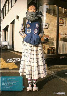 Harajuku Girls, Harajuku Fashion, Japan Fashion, Look Street Style, Asian Street Style, Japanese Streets, Japanese Street Fashion, Cool Outfits, Fashion Outfits