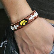 Iowa Hawkeyes Brown Football Bracelet  #FanaticsWishList @Fanatics ® ®