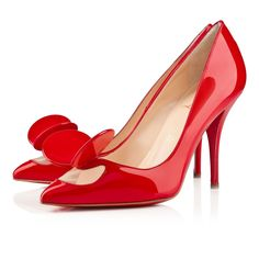 MADAME MOUSE PATENT 100 mm, Patent leather, Red Lipstick, Women Shoes