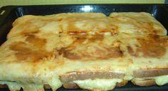 πιτσα τοστ Cookbook Recipes, Snack Recipes, Cooking Recipes, Greek Cooking, Easy Cooking, Kid Friendly Appetizers, The Kitchen Food Network, Sour Foods, Think Food