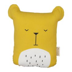 Animal Cushion- Lazy Bear- Honey – Fabelab