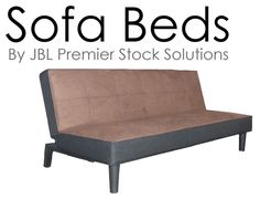 NEW LARGE MODERN SOFA BED, 3 SEATER SOFA, FOLDING DOUBLE BED, FABRIC