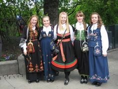 Norwegian National costumes