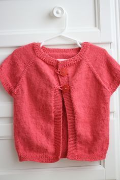 Ravelry: Quick Knit Baby Shrug pattern by Natalie Haban