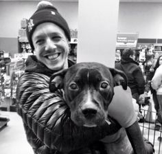 Theo Rossi Funny | Theo looks so cute holding that dog!