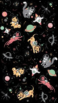 Animals in the Space iPhone Wallpaper - iPhone Wallpapers Space Iphone Wallpaper, Hd Phone Wallpapers, Planets Wallpaper, Dog Wallpaper, Apple Wallpaper, Cellphone Wallpaper, Mobile Wallpaper, Pattern Wallpaper, Cute Wallpapers