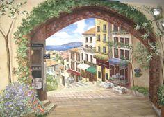 Imagini pentru picturi pe pereti 3d