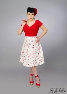 ba-da-bing cherry skirt