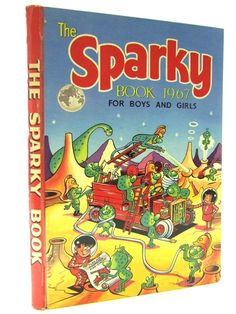 The Sparky Book 1967 For Boys and Girls Comic book