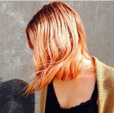 Rose gold hair #hair