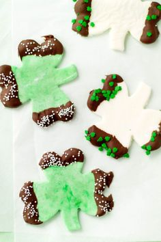 Shamrock Peppermint Creams