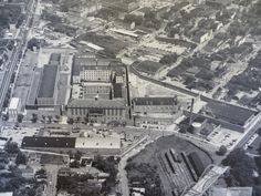 The Shockoe Examiner The Virginia Penitentiary before expressway. Belvidere on left E. Byrd and Spring on top and bottom of pen.2nd st. on bottom right corner. RR lines filled in now. Expressway now right above E. Byrd.
