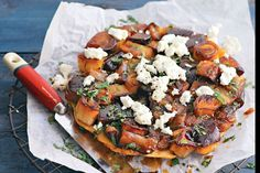 Maggie Beer's leek and eggplant tarte tatin is simple yet impressive. You might want to make two...