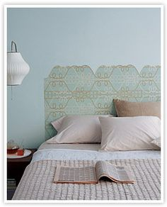 Since I am planning to take the doors off my closet. Cool to see it can be transformed into a headboard!!