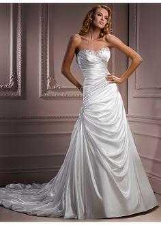 beaded sweetheart neckline wedding dress