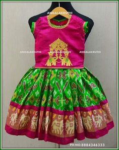 Image may contain: people standing Cotton Frocks For Kids, Frocks For Girls, Kids Frocks, Dresses Kids Girl, Kids Outfits, Baby Dresses, Kids Dress Wear, Kids Gown, Kids Lehenga Choli
