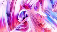 Gorgeous CGI Paint Swirls in Mesmerizing Animations