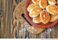 Pirogge - Gebratene Teigtaschen mit Kartoffeln Piroschki s kartoschkoj - Пирожки с картошкой