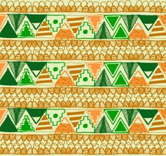 Badlands™ 2012 collection / Prints for Teelocker by Bosque , via Behance
