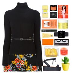 """Untitled #2142"" by tacoxcat ❤ liked on Polyvore featuring MSGM, MM6 Maison Margiela, Sara Happ, H&M, Braun, Dsquared2, BBrowBar, NARS Cosmetics, Kate Somerville and women's clothing"