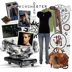 Supernatural - Dean Winchester, created by kyra-angel on Polyvore