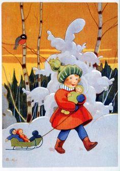 Rudolf Koivu, Tyttö ja nuket - Huuto.net