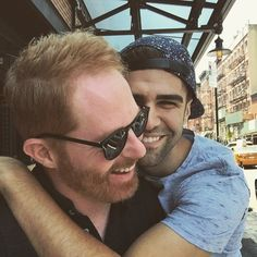 Pin for Later: 17 Power Couples Who Are Slaying (or Will Soon Slay) Same-Sex Marriage Jesse Tyler Ferguson and Justin Mikita: Married Lgbt Couples, Real Couples, Celebrity Couples, Celebrity Weddings, Power Couples, Cute Couples Photos, Couple Photos, Gay Couple, Modern Family