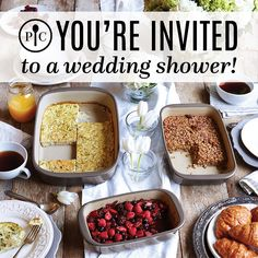 Have you signed up for a wedding registry with Pampered Chef yet?  Ask me how