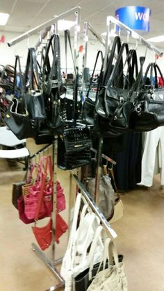 Purses at our Alameda store.