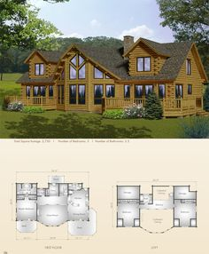 Lakeview - Big Twig Homes. I like the loft, but studies not bedrooms. Need bedrooms on first floor. Love the open plan.