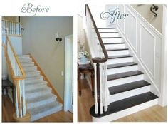 staircase makeover.