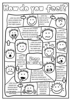 feeling faces printable coloring sheet | printable coloring sheets ... - Feelings Coloring Pages Printable