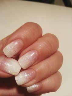Winter wonderland. Holiday nails. Nail art