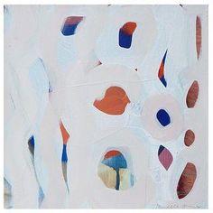 "Michelle Armas Painting ""Blue Print"""