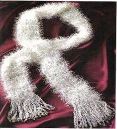 Glamour Scarf free crochet pattern