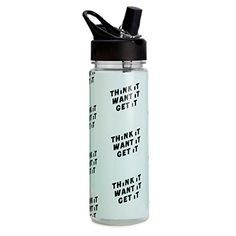 Bando Work It Out Think It Want It Get It Water Bottle Multicolor -- For more information, visit image link.Note:It is affiliate link to Amazon.