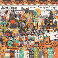 Autumn Fun - Ghoul Night by Jady Day Studio Pallet