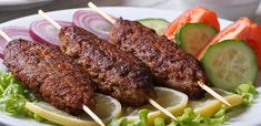 Customers can tuck into pomegranate chicken, lamb cutlets or club sandwich, accompanied by a starter, homemade gateau and a beverage Saffron Rice, Lamb Stew, Kidney Beans, Garlic Sauce, Rice Dishes, Tandoori Chicken, Grilling, Pepperoni, Pasta